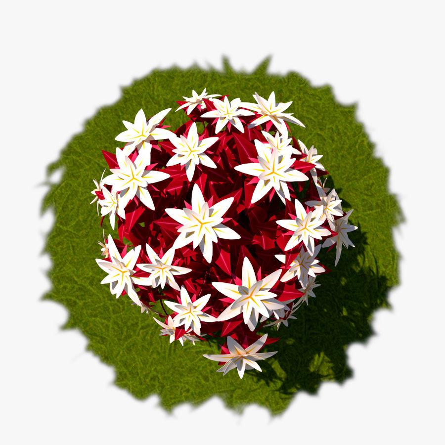 Pacote de arbusto de flores royalty-free 3d model - Preview no. 33