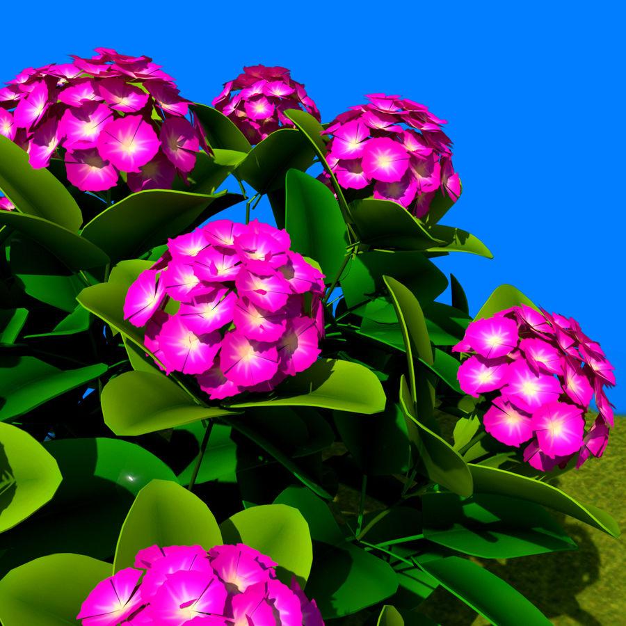 Pacote de arbusto de flores royalty-free 3d model - Preview no. 6