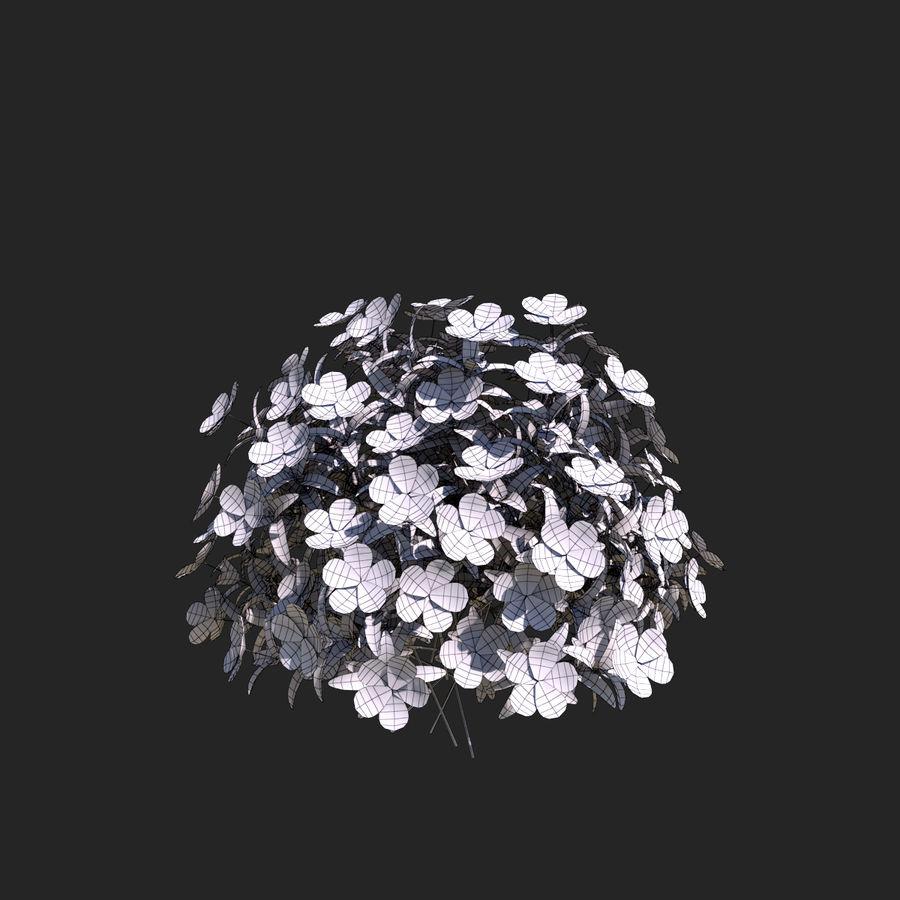 Pacote de arbusto de flores royalty-free 3d model - Preview no. 20
