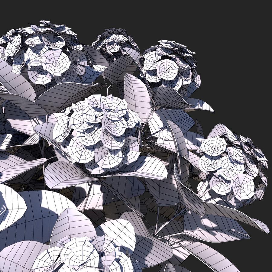 Pacote de arbusto de flores royalty-free 3d model - Preview no. 11