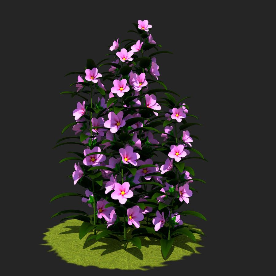 Pacote de arbusto de flores royalty-free 3d model - Preview no. 23