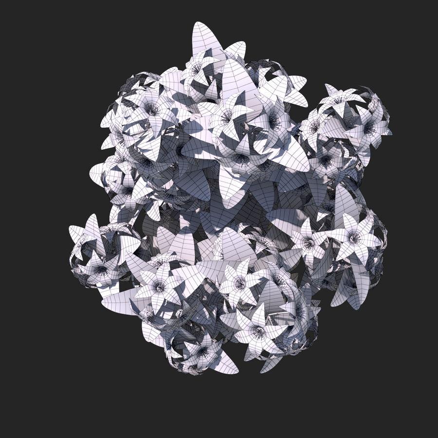 Pacote de arbusto de flores royalty-free 3d model - Preview no. 47