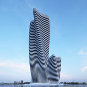Wolkenkrabber V 1 3d model
