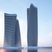 Skyscraper V 2 3d model