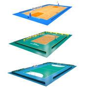 Sport Fields Collection 2 3d model