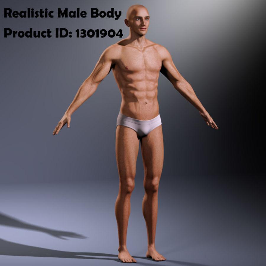 Реалистичный человеческий глаз V2 royalty-free 3d model - Preview no. 30