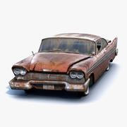 Plymouth Fury 1958 Rusty 3d model