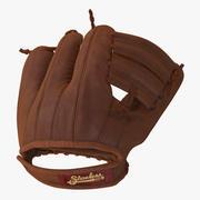 Joe Bas 3D-modell för vintage baseballhandske 3d model