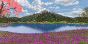 Fuji Dağı, Japonya 3d model
