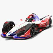 Mahindra Racing Formula E Team Сезон 2018 2019 3d model