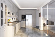 现实的厨房场景 3d model