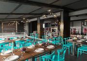 Restaurang - Caféinteriör 3d model