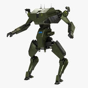 Battle Mecha 3d model