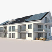 Lägenhet hus 25 3d model