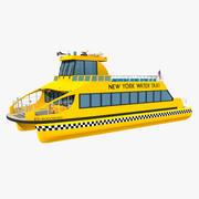 Táxi aquático Nova York 3d model