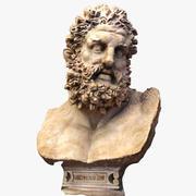 Estátua de Hércules 3d model