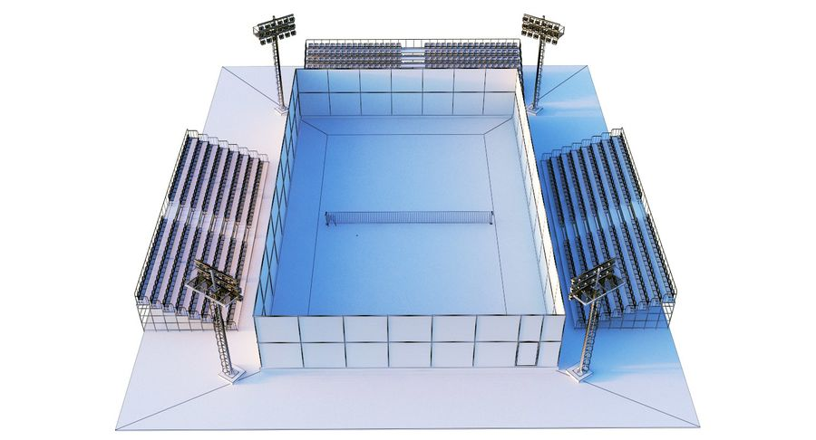 Tennis Court royalty-free 3d model - Preview no. 21