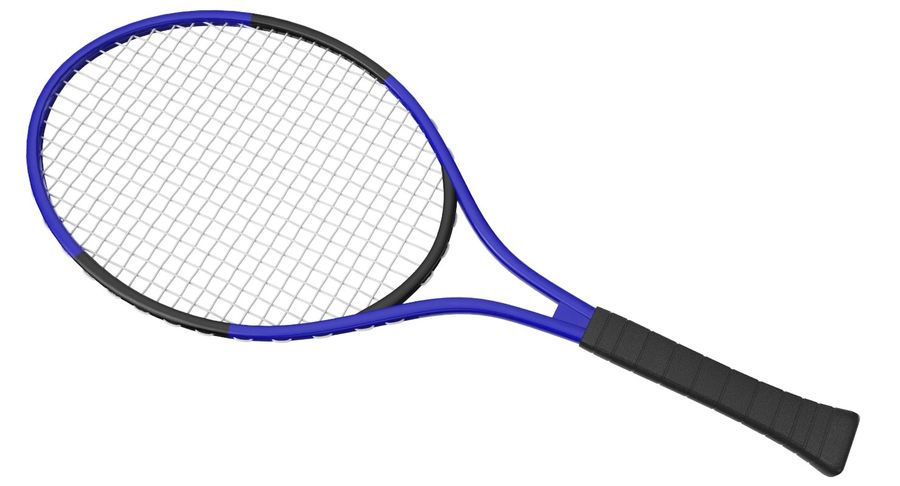 Tennis Court royalty-free 3d model - Preview no. 11