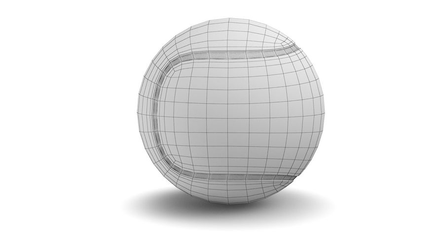 Tennis Court royalty-free 3d model - Preview no. 23