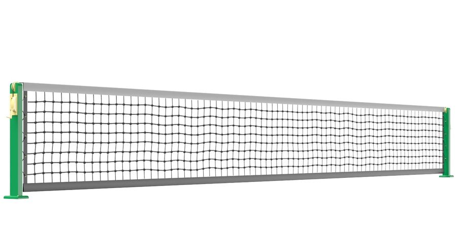 Tennis Court royalty-free 3d model - Preview no. 14