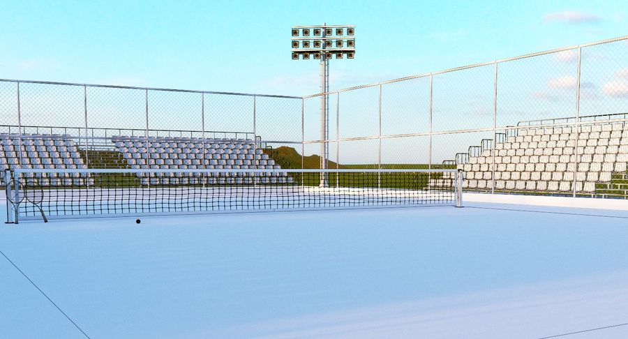 Tennis Court royalty-free 3d model - Preview no. 20
