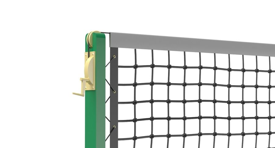 Tennis Court royalty-free 3d model - Preview no. 16