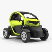 Générique de voiture électrique 3d model