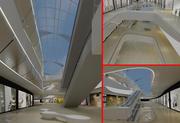 Centre commercial 01 3d model