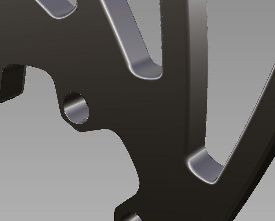 ディスクブレーキ royalty-free 3d model - Preview no. 3