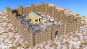 Ultimate Brick Castle 3d model