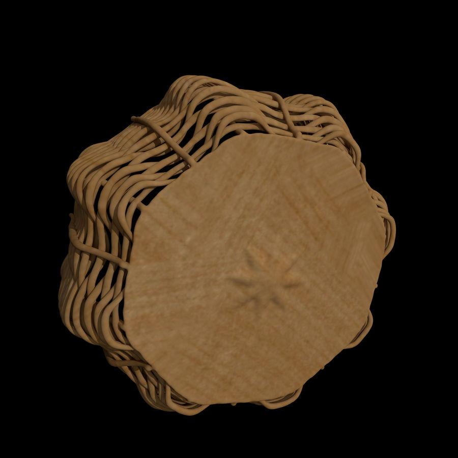 Basket royalty-free 3d model - Preview no. 3