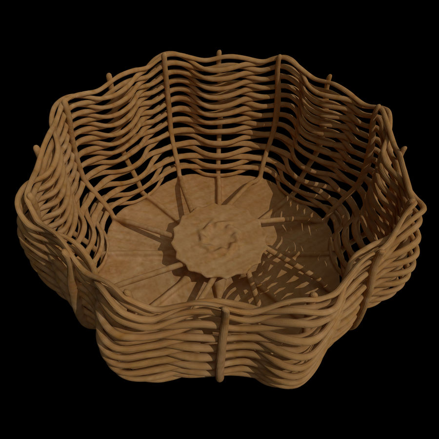 Basket royalty-free 3d model - Preview no. 1