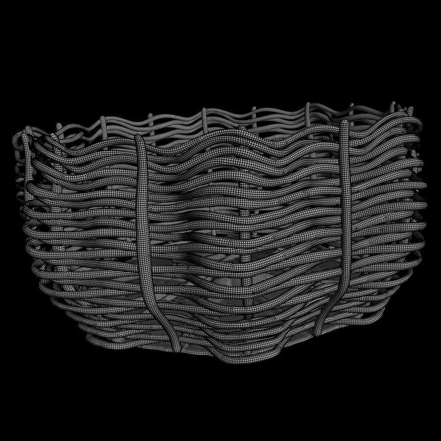 Basket royalty-free 3d model - Preview no. 6
