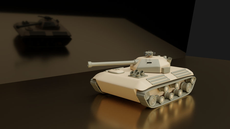 Army vehicles royalty-free 3d model - Preview no. 4