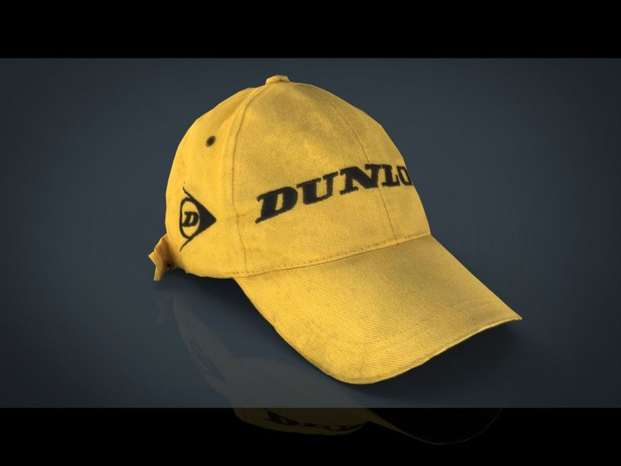 Boné de baseball royalty-free 3d model - Preview no. 13