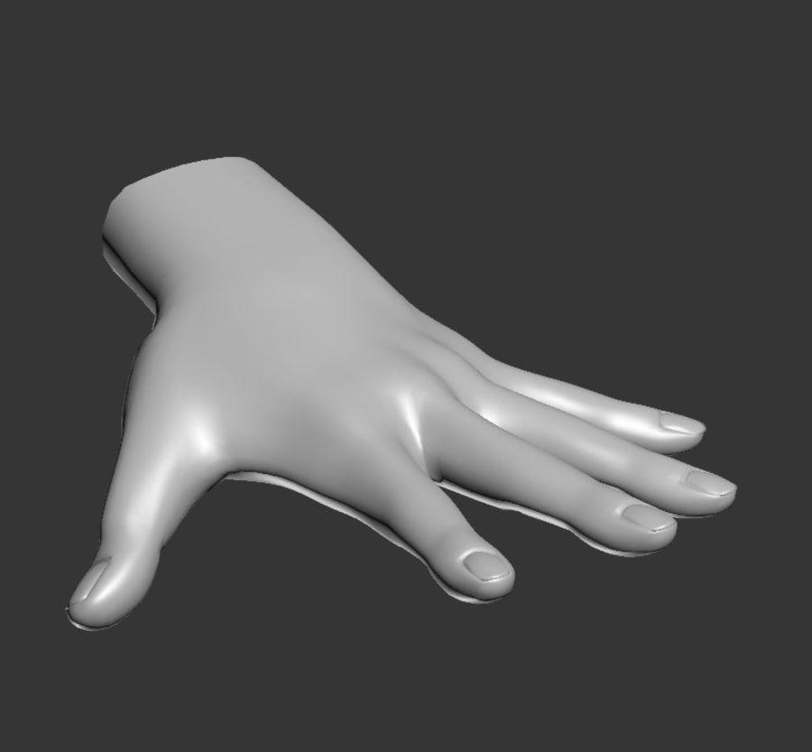 Hand Sculpt Spline royalty-free 3d model - Preview no. 1