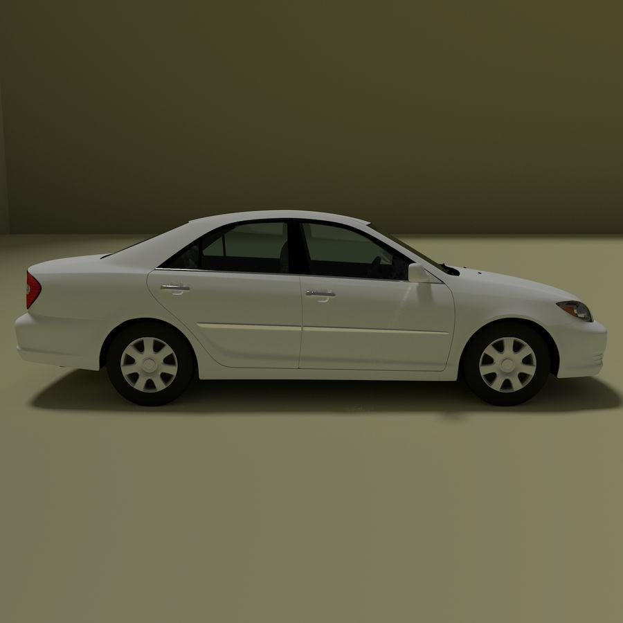 sedan 2004 royalty-free 3d model - Preview no. 5