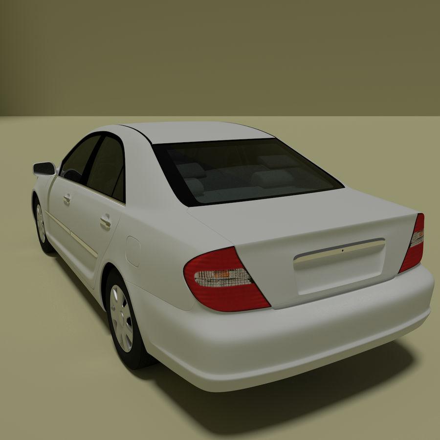 sedan 2004 royalty-free 3d model - Preview no. 3
