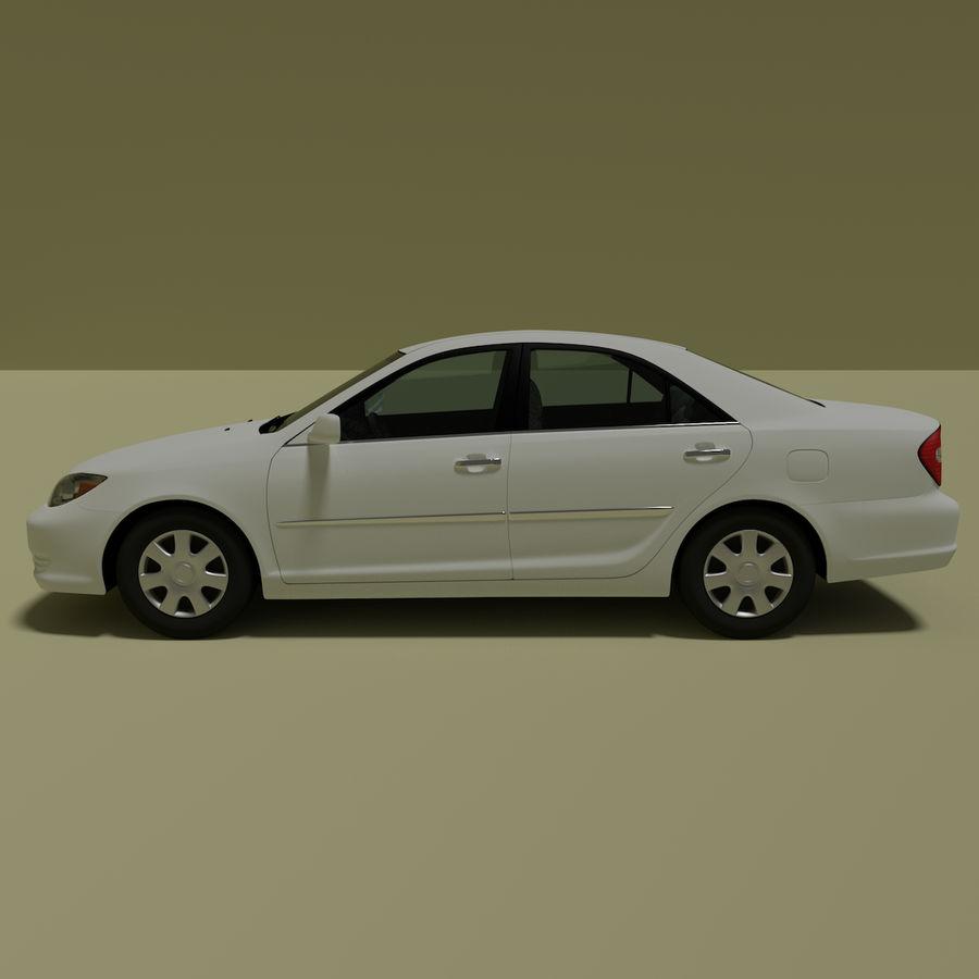 sedan 2004 royalty-free 3d model - Preview no. 4