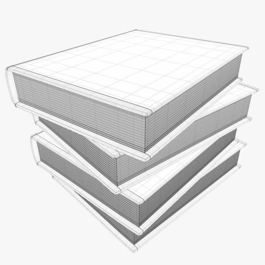 书架1 royalty-free 3d model - Preview no. 7