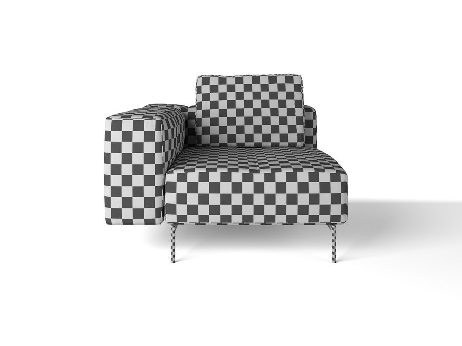 BoConcept Амстердам Диван royalty-free 3d model - Preview no. 19