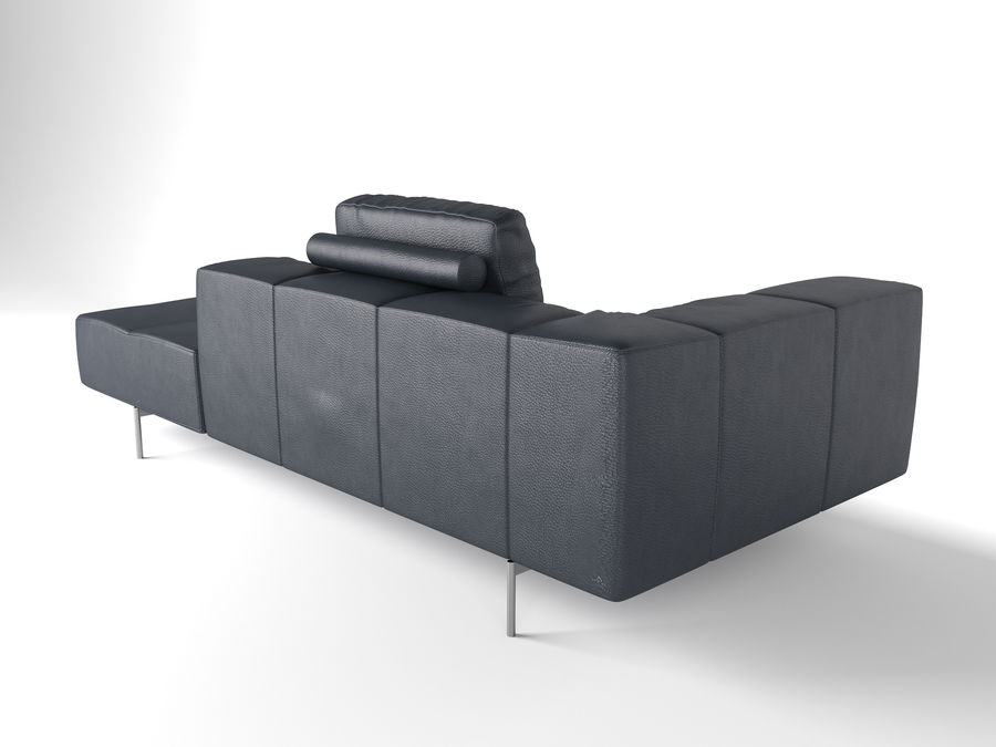 BoConcept Амстердам Диван royalty-free 3d model - Preview no. 13