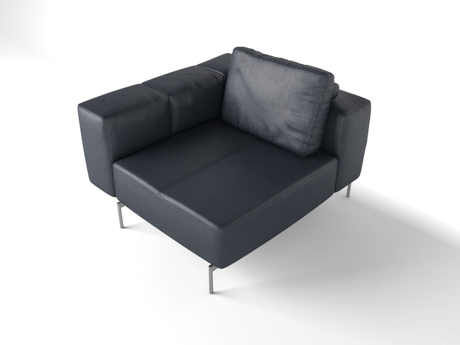 BoConcept Амстердам Диван royalty-free 3d model - Preview no. 21