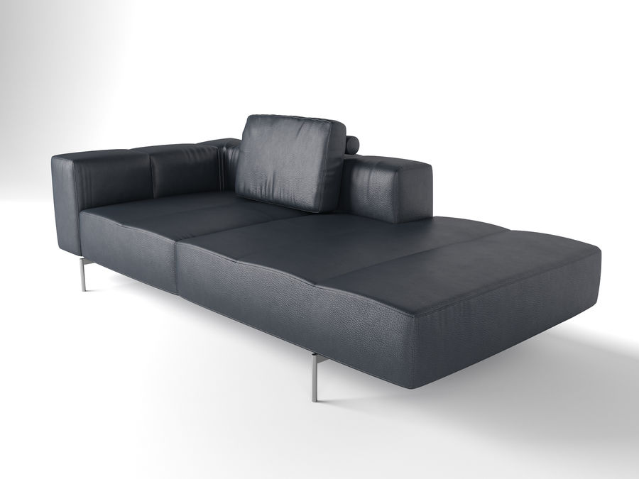 BoConcept Амстердам Диван royalty-free 3d model - Preview no. 12