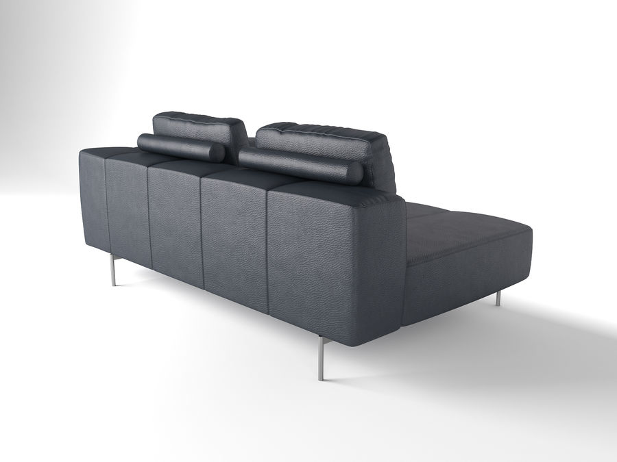 BoConcept Амстердам Диван royalty-free 3d model - Preview no. 7
