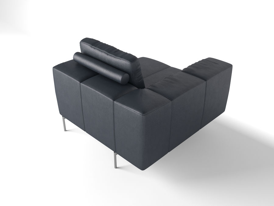 BoConcept Амстердам Диван royalty-free 3d model - Preview no. 22