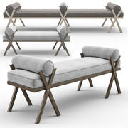 Camp Bench - Keystone Designer 3d model