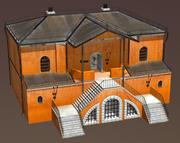 중세 판타지 하우스 3 3d model