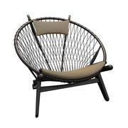 Wegner PP130圆椅 3d model