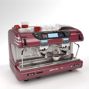 La spaziale Coffee Machine Burgunby 2 그룹 3d model